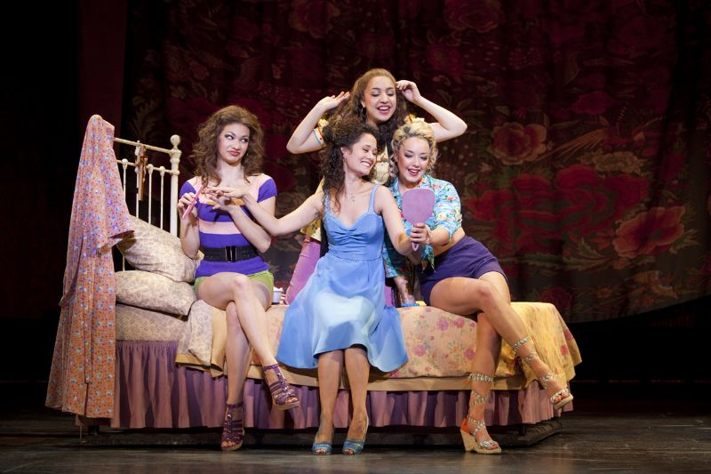 """I Feel Pretty"" on the 1st National Tour of West Side Story with Kathryn Lin Terza, Dea Julien, and Lori Ann Ferreri"