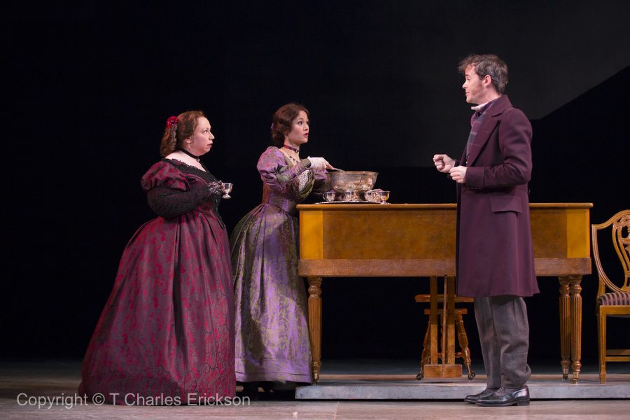 "As Mary Bonds in McCarter Theatre's ""A Christmas Carol."" Photo by T. Charles Erickson"