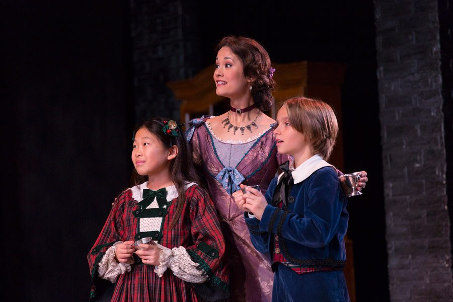 """As Mary Bonds in McCarter Theatre's """"A Christmas Carol."""" Photo by T. Charles Erickson"""