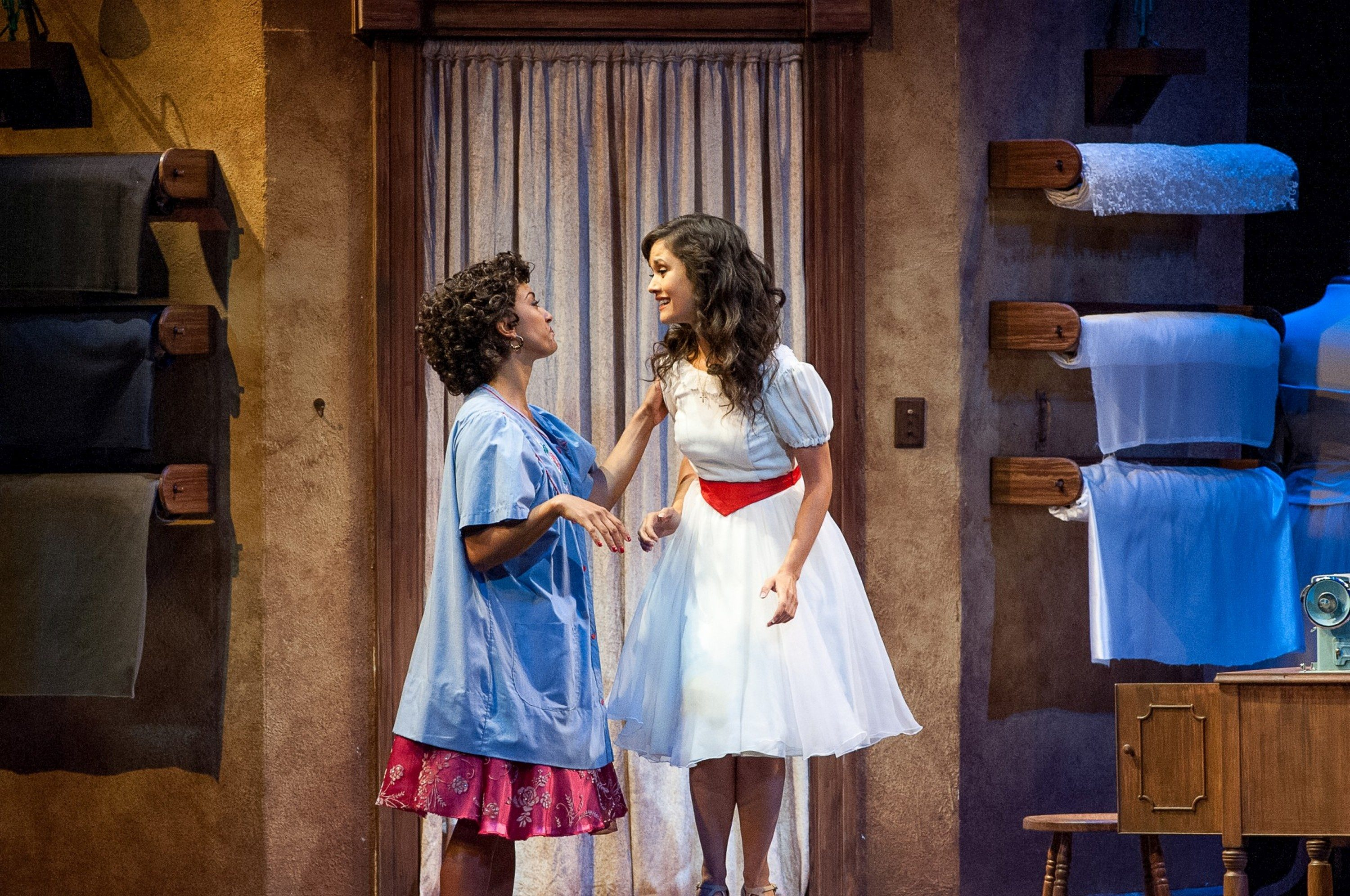 As Maria in WSS with MTW with Shina Ann Morris. Photo by Christopher Clark