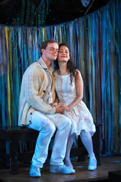 "In ""The Fantasticks"" Off-Broadway with Jim Schubin"