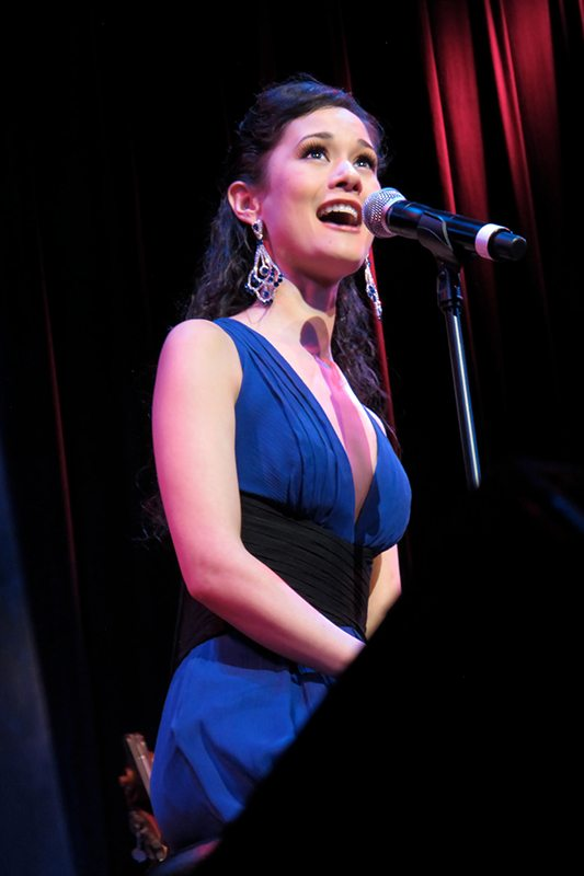 """Performing in """"A HEART FULL OF LOVE"""" at NY's Town Hall"""