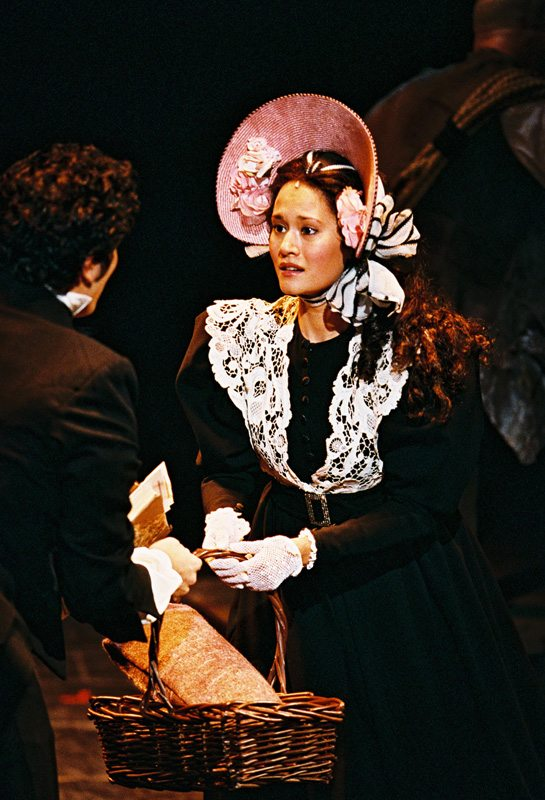 As Cosette in the Broadway Revival of Les Miserables at the Broadhurst Theater