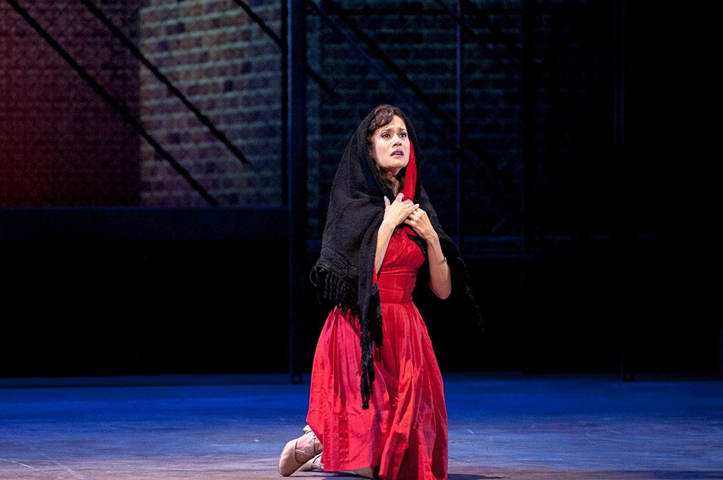 As Maria in West Side Story with Music Theatre Wichita. Photo by Jerry Fritchman